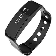 Fitness Tracker Smart Wristband Smart Bracelet Sport Tracker Monitor Waterproof IP66 with Bluetooth Sleep Monitoring Pedometer Call Message Reminder for iOS Android Phones ** For more information, visit image link. (This is an affiliate link and I receive a commission for the sales)