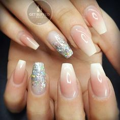 Classy and clean... Just the way I like it @getbuffednails