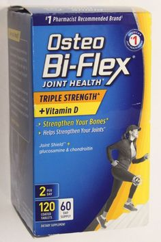 NEW  Osteo Bi-Flex Joint Health Triple Strength + Vitamin D 120 Caplets #OsteoBiFlex
