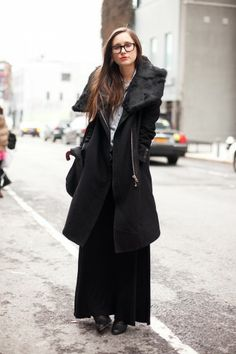 Black beauty: Jeana Kolson of Barneys.