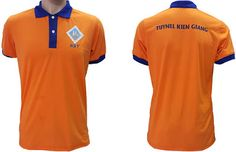 Áo đồng phục vải thun công nhân của công ty gạch ngói Kiên Giang đã may thành phẩm.