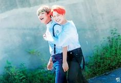 Vmin are the best of friends omg <3