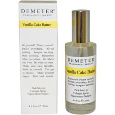 Vanilla Cake Batter Women Cologne Spray by Demeter, 4 Oun...