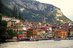 The Towns of Lake Como