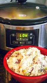 Inspired By eRecipeCards: Chicken Stock in a Crock Pot From a Rotisserie Bird or How to get 3 Lbs of Chicken Salad FREE