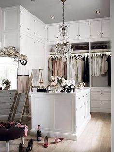 .Closet | Dressing Room | Quarto | Decoração | Home | Interior | Design | Decoration | Organization