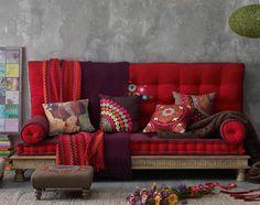 Exotic sofa from Maison du Monde