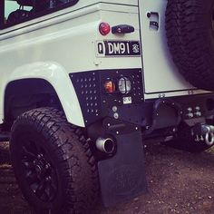 "Land Rover Defender 110 Td4 Sw Se customized. Our first Customer from ""Down Under""."