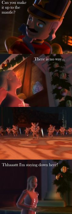 Barbie and the Nutcracker, One of my favorite parts!