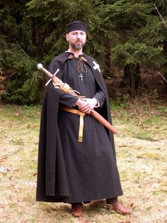 Medieval Knight Hospitaller, civil, 1160 - 1180. Mehr Informationen dazu gibt's auf www.mittelalterforum.com