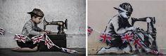 Viralmente: Banksy in Real Life Part Two.