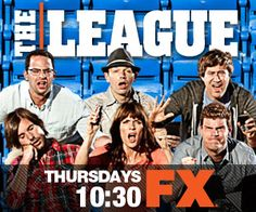 "The League...My husband and i are major ""Fantasy Football Geeks ""and I love watching this with him, sooo funny!"