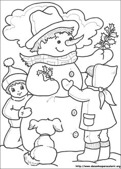 This page has lots of free christmas snowman coloring pages for kids,parents and teachers Snowman Coloring Pages, Coloring Pages Winter, Mandala Coloring Pages, Christmas Coloring Pages, Coloring Book Pages, Coloring Pages For Kids, Coloring Sheets, Christmas Colors, Christmas Snowman
