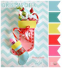 Christmas Cheer Color Palette - Inspire Sweetness  http://www.inspiresweetness.blogspot.com/2013/12/christmas-cheer-color-palette.html
