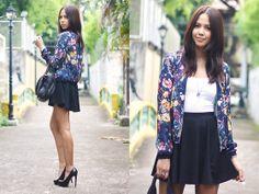 Zara Jacket, American Eagle Top, Topshop Skirt, Alexander Wang Bag