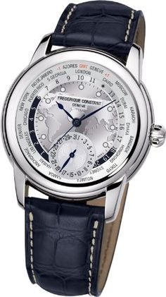 Frederique Constant Worldtimer Silver Dial Blue Leather Automatic Mens Watch FC-718WM4H6: http://watches.cybermarket24.com/frederique-constant-worldtimer-silver-dial-blue-leather-automatic-mens-watch-fc-718wm4h6/