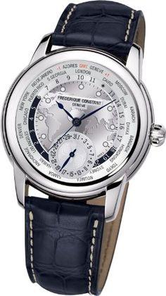 Frederique Constant Worldtimer Silver Dial Blue Leather Automatic Mens Watch FC-718WM4H6: http://watches.cybermarket24.com/frederique-constant-worldtimer-silver-dial-blue-leather-automatic-mens-watch-fc-718wm4h6/