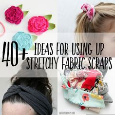 Fabric Remnants, Fabric Scraps, Scrap Fabric Projects, Sewing Projects, Sewing Ideas, Sewing Tips, Fabric Handbags, Knitted Fabric, Fabric Sewing