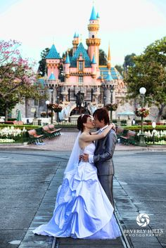 This would be the ultimate wedding dream come true for me... Disney wedding