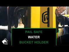 🐴 Pail Safe Bucket Holders 💧 Prevent Horses From Spilling Water! - YouTube #water #bucket #holder #rammfence #horses #equestrian #installation
