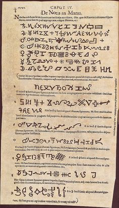 de notis in manu Praetorius, Johann 1630-1680.  Lvdicrvm chiromanticum Praetorii, seu Thesaurus chiromantiae http://ihm.nlm.nih.gov/luna/servlet/detail/NLMNLM~1~1~101595881~219396:De-notis-in-manu