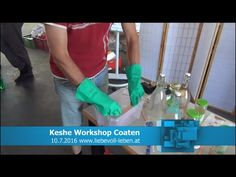 Keshe Plasma Technologie Workshop 02 Coaten
