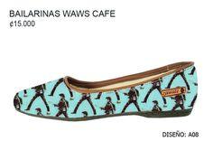 Bailarinas WaWs Café 2016 - ¢15.000   Tallas del 33 al 39   Envíos Gratis en todo el país   Cuenta Bancaria para Depósitos BCR Ahorros 962-0000-248-8 Jose Luis Alemán Centeno Cédula 1-1121-0681 SINPE: 15202962000024887   Envío de Medidas: http://www.zawate.org/#!paso-2/y9fpo   Los pedidos se hacen en orden cronológico   Tiempo aproximado de producción: 7 - 12 días   Tiempo de envío: 2-4 días.