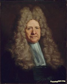 A Magistrate Artwork by Hyacinthe Rigaud