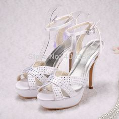 >> Click to Buy << Wedopus MW642 Custom Handmade Fashion Sandals Platform Party Summer Women Wedding Bridal White #Affiliate
