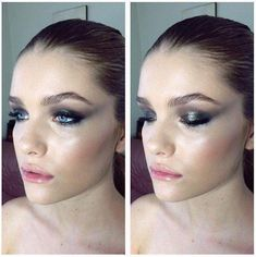 Glam Grunge | 20+ Homecoming Dance Makeup Ideas Guaranteed To Win You The Crown #MakeupIdeasBeginners #EyelinerForBeginners How To Do Makeup, Diy Makeup, Makeup Tips, Makeup Ideas, Teen Makeup, Glam Makeup, The Crow, Makeup Tutorial Eyeliner, Contour Makeup