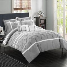 Chic+Home+Dorothy+10-piece+Bed+in+a+Bag+Set