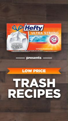 Get Hefty® Ultra Strong™ trash bags for a low price.