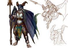 The dragon of a lancer by koutanagamori on deviantART