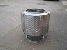 Washing Machine Drum Fire Pit / Patio Burner / Incinerator