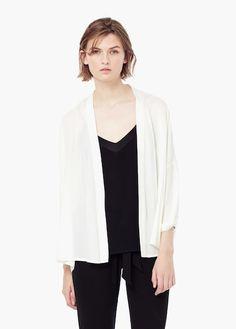 Kimono - Floral, Plus Size,Long And Black Kimono Cover Ups Cheap Online Sale Black Kimono, Long Kimono, Kimono Top, Kaftan, Plus Size Kimono, Mango Outlet, Sammy Dress, T Shirt, Blazer