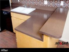 Get A Grip Resurfacing Resurface Countertops, Kitchen Countertops, Get A Grip, Contractors License, Diy Cabinets, Kitchen Remodel, New Homes, House Styles, Mauve