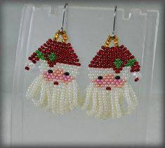 Seed Bead Earrings, Etsy Earrings, Fringe Earrings, Seed Beads, Dangle Earrings, Peyote Beading Patterns, Beaded Earrings Patterns, Estilo Tribal, Bead Earrings