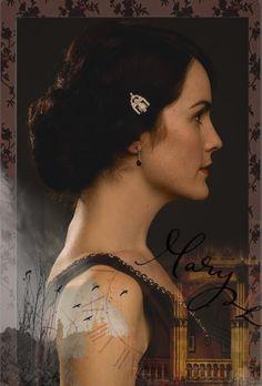 Mary Crawley by Amorine.deviantart.com on @deviantART