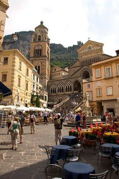Amalfi; the Duomo for religious ceremony! I would love to see this again