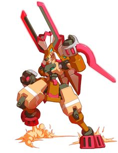 Buckfire - Characters & Art - Mega Man ZX Advent