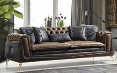 Bentley Koltuk Takımı - (3-3-1) Leather Furniture, Sofa Furniture, Sofa Design, Interior Design, Construction, Armchair, Couch, Luxury, Home Decor