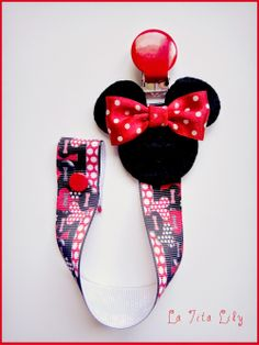 La Tita Lily: Chupetero Minnie mod. 1