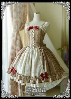 This dress reminds me of a gingerbread person!