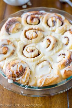 Easy Homemade Cinnamon Rolls from scratch. Fluffy, soft, and sweet. They only require 1 rise, so they are much quicker than the traditional recipe!