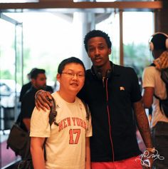 Brandon Jennings in China, with Fans
