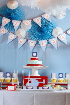 Helicopter Birthday Party for your little Aviator!