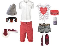 """""""Couple Outfit 2"""" by missriane on Polyvore"""