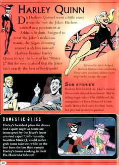 "The Relationship Between Harley Quinn and The Joker in ""Batman: The Animated Series""."