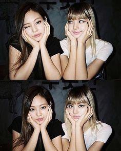 Jennie and Lalisa