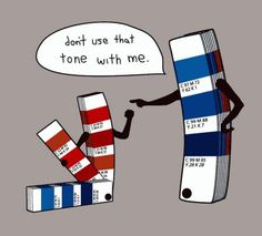 Web design is very serious business; even colors can have consequences! ;) #webdesign #techjokes